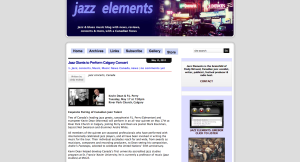 Cindy Mcleod's site features Jazz and Blues Music News, reviews, interviews. Especially focuses on Canadian Jazz Scene.